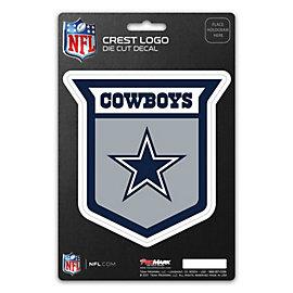 Dallas Cowboys Crest Logo Decal
