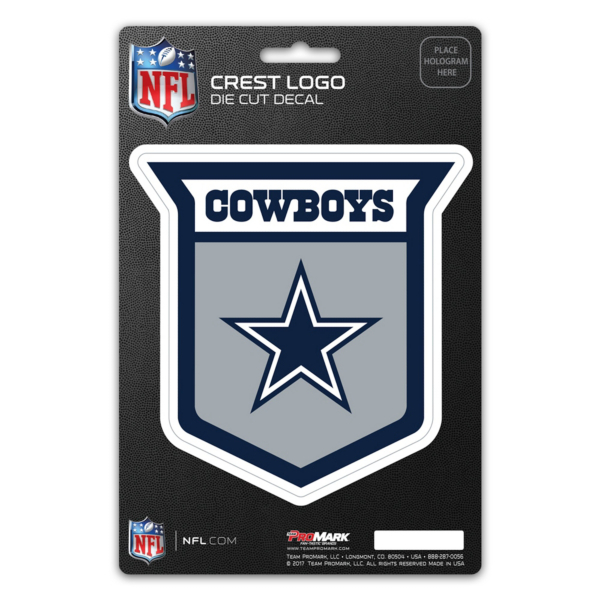 Dallas Cowboys Crest Logo Decal