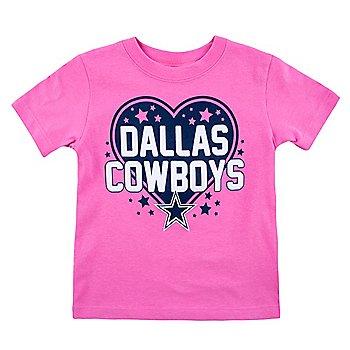 Dallas Cowboys Toddler Audra T-Shirt