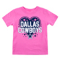 Dallas Cowboys Toddler Audra T-Shirt