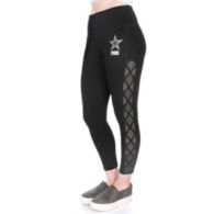 Dallas Cowboys PINK High Waist Ankle Lace-up Legging