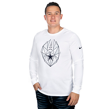 Dallas Cowboys Nike Mens Icon Long Sleeve T-Shirt