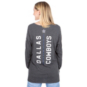 Dallas Cowboys Womens Nike Vertical Back Long Sleeve Tee