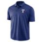 Texas Rangers Nike Striped Polo
