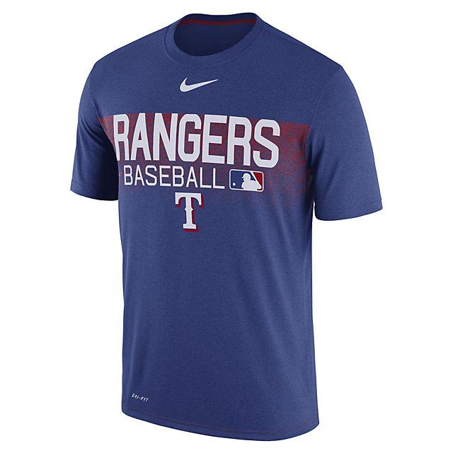 Texas Rangers Nike Legend Team Issue Short Sleeve Tee