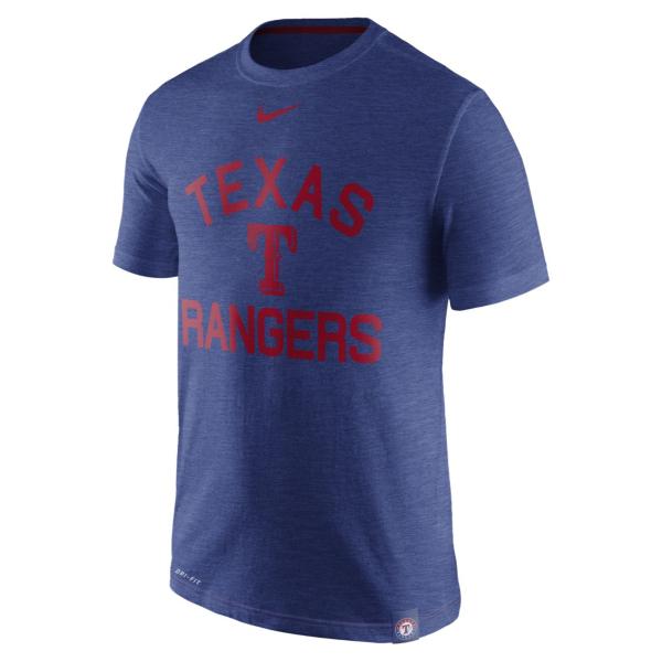 Texas Rangers Nike Slub Arch Tee