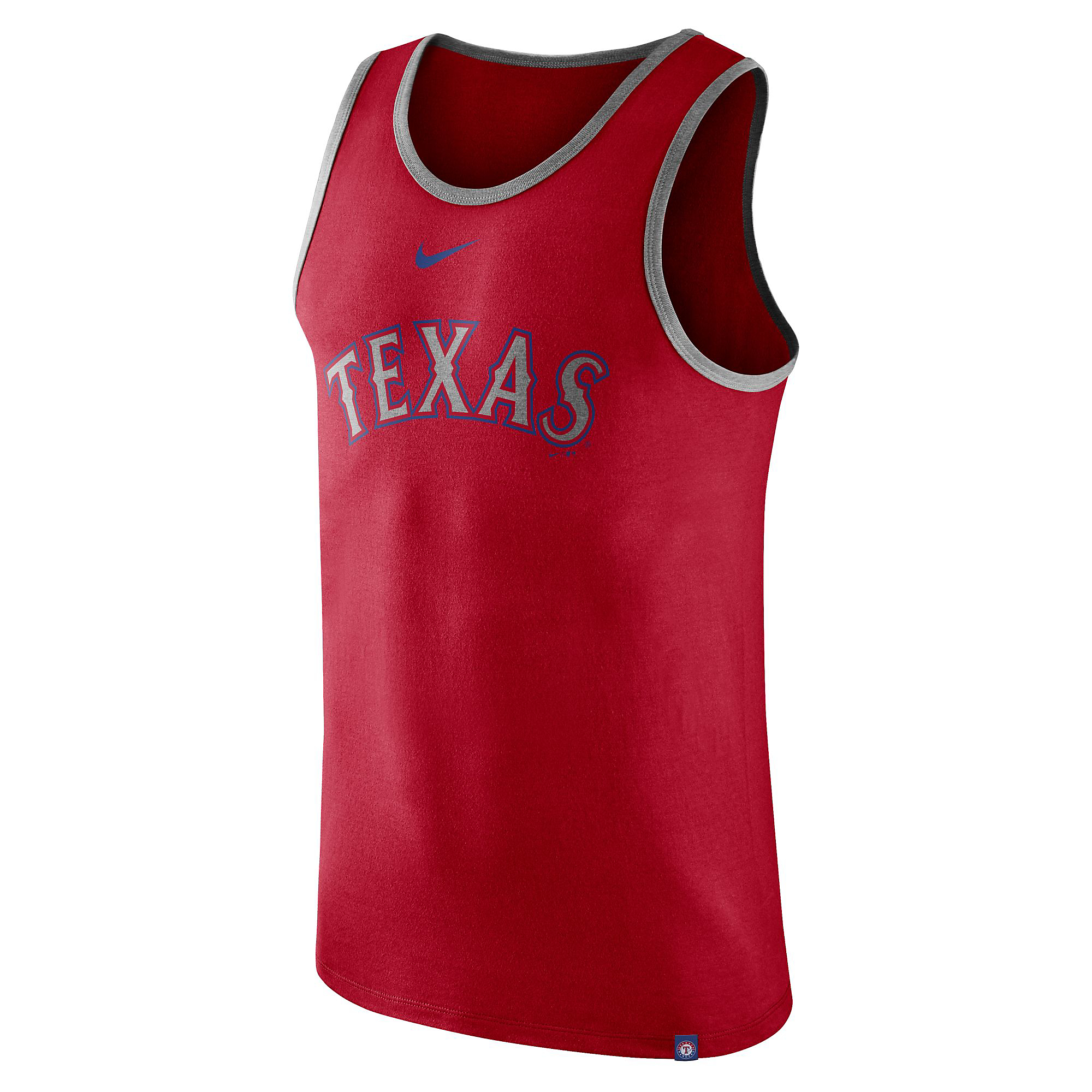 Texas Rangers Nike Cotton Wordmark Tank
