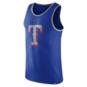 Texas Rangers Nike Cotton Wordmark Logo Tank