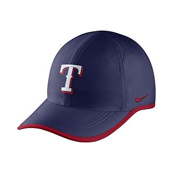 c936e1721cf48 Texas Rangers Nike Aerobill Featherlight Cap