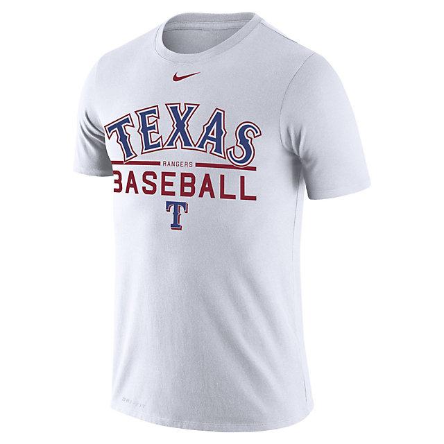 Texas Rangers Nike Dry Practice Tee
