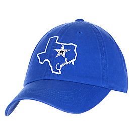 Dallas Cowboys State Script Cap