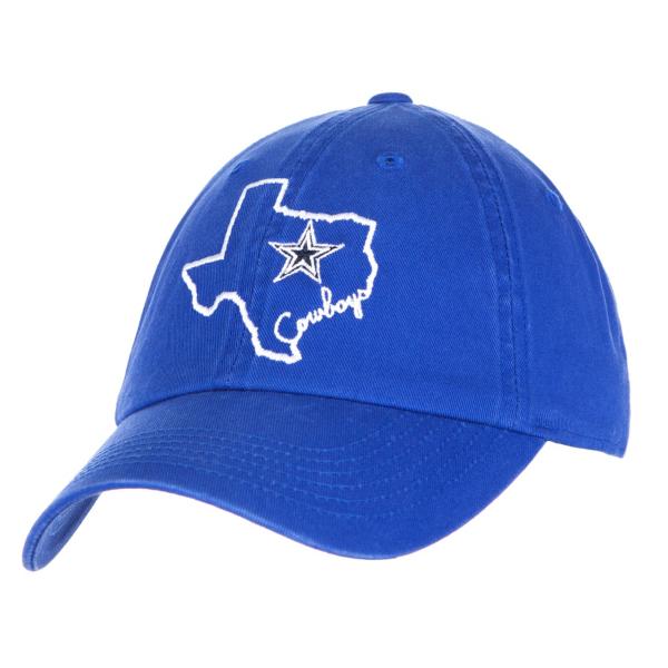 Dallas Cowboys State Script Cap