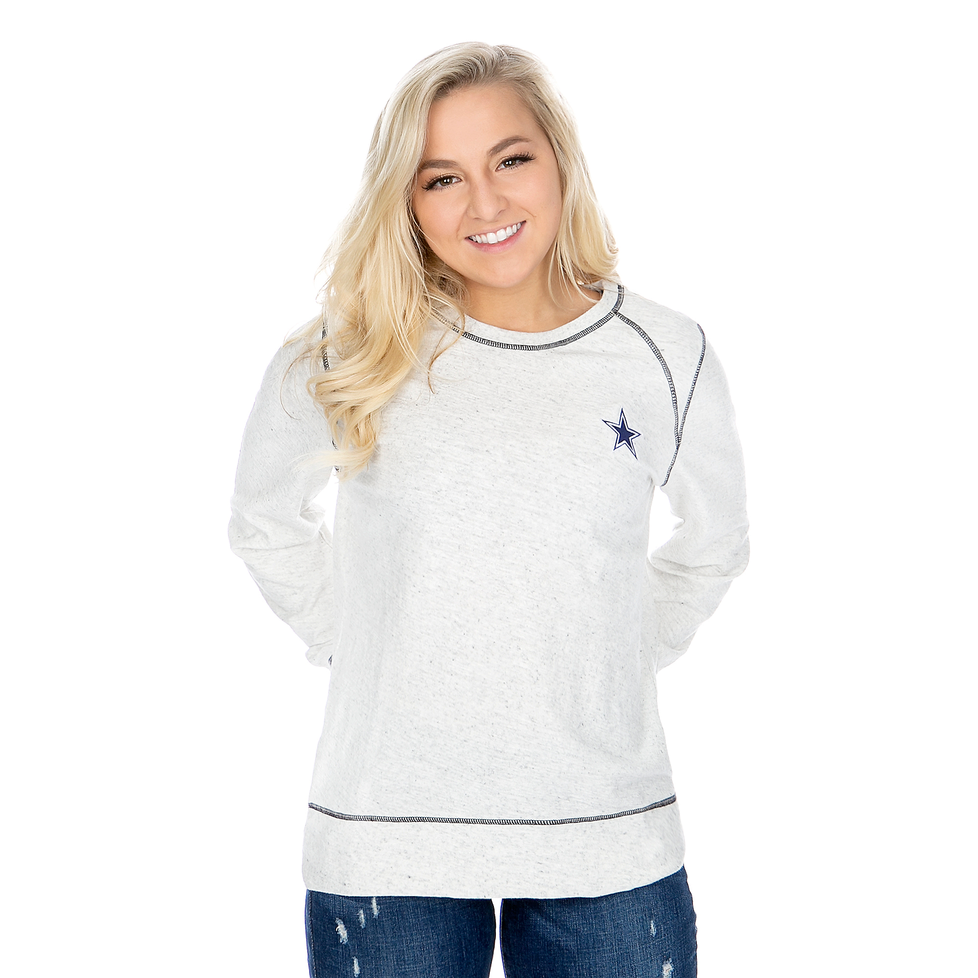Dallas Cowboys Tommy Bahama Womens Seashore Slub Pullover