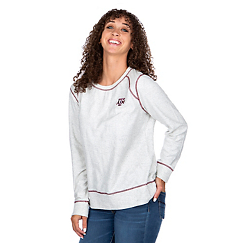 Texas A&M Aggies Tommy Bahama Womens Seashore Slub Pullover