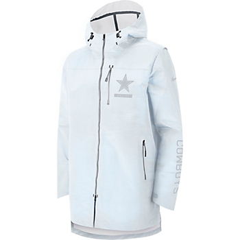 Dallas Cowboys Nike Sideline Away Players Cape Jacket 9129444d1