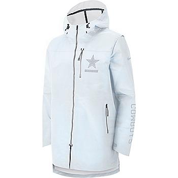Dallas Cowboys Nike Sideline Away Players Cape Jacket 25d29b815