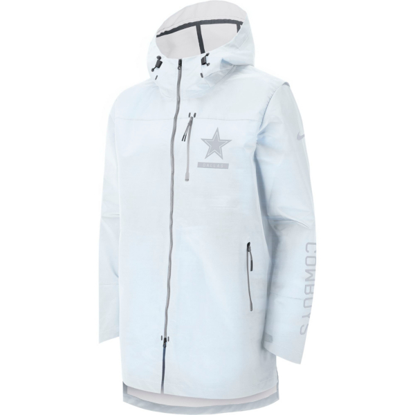 Dallas Cowboys Nike Sideline Away Players Cape Jacket