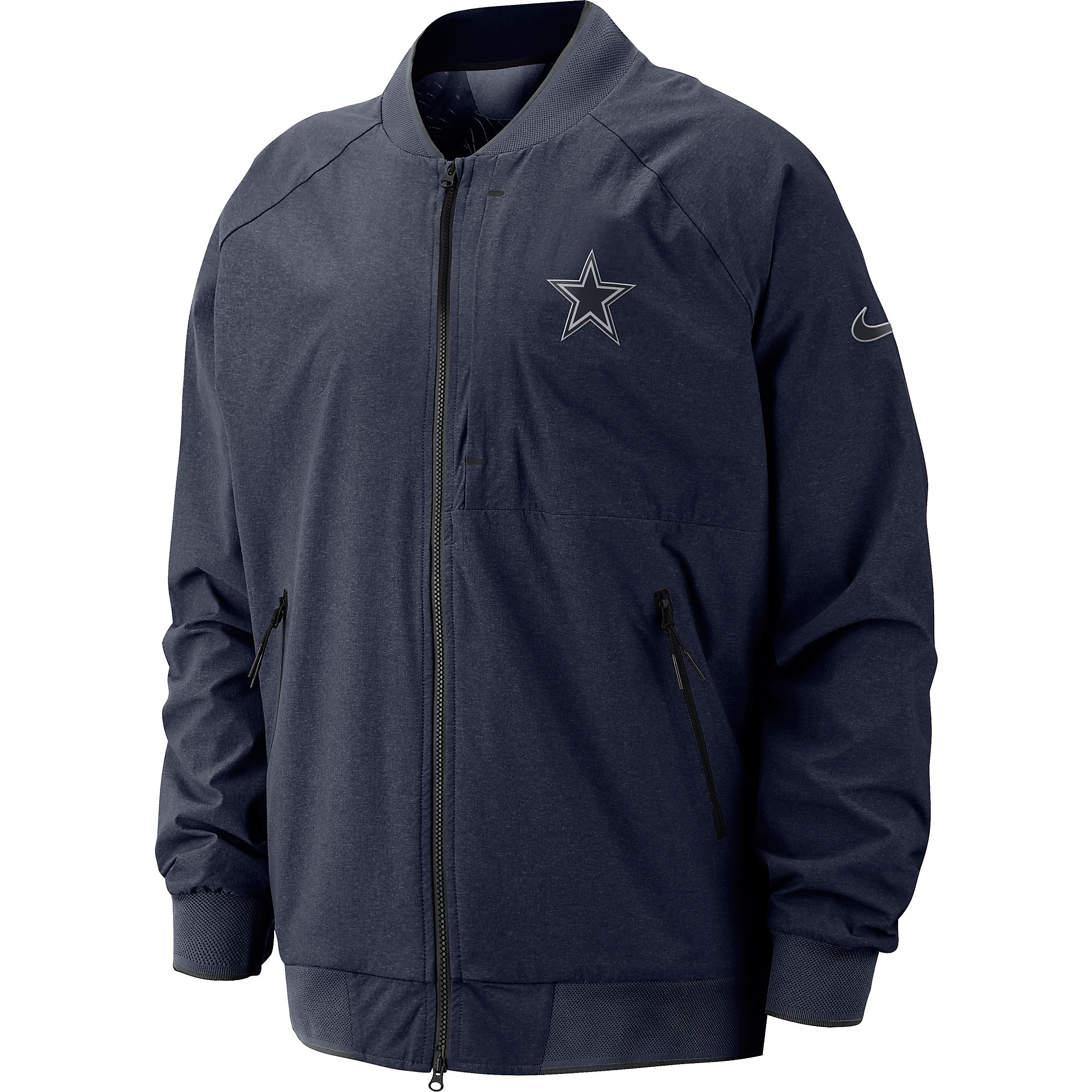 differently 11dc5 8122d Dallas Cowboys Nike Sideline Away Coaches Jacket