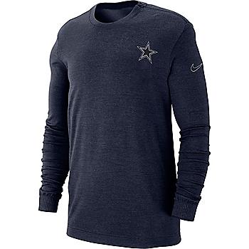 3640dd4cf72 Dallas Cowboys Nike Sideline Away Coaches Sweater