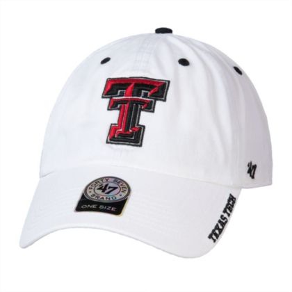 Texas Tech Red Raiders 47 White Ice Cap   Fans United