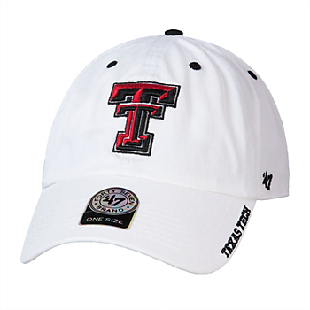 size 40 75343 c98be Texas Tech Red Raiders 47 White Ice Cap