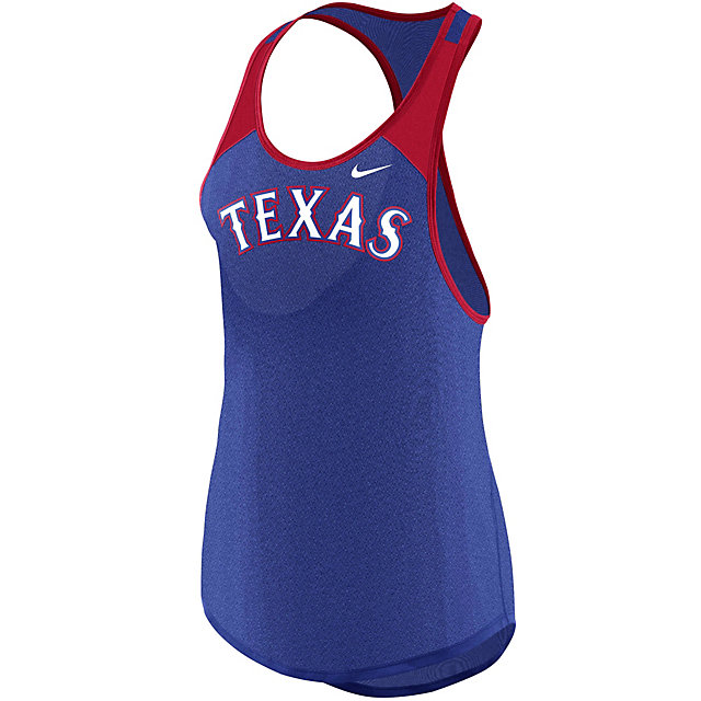 Texas Rangers Nike Womens Legend Practice Tank