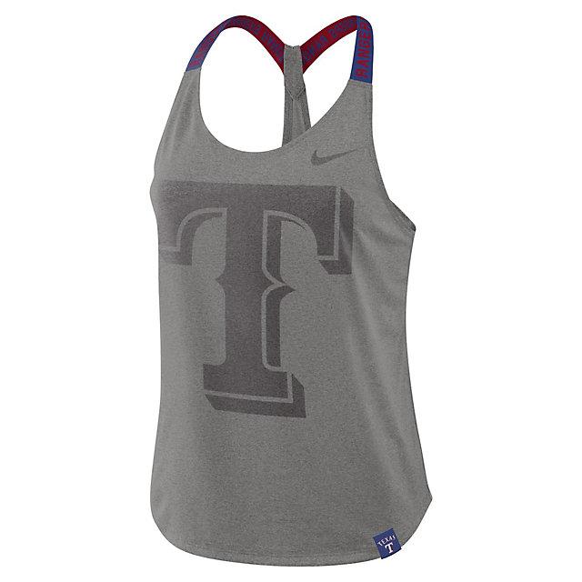 Texas Rangers Nike Womens Dry Tank