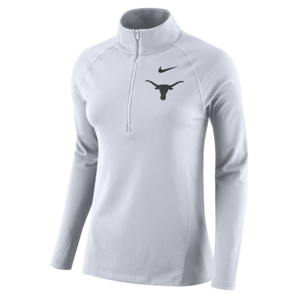 Texas Longhorns Womens Nike Element Half Zip Pullover