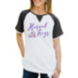 TCU Horned Frogs Believe It or Knot Raglan Waffle Tee