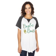 Baylor Bears Believe It or Knot Raglan Waffle Tee