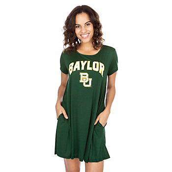 Baylor Bears Tee Shirt Dress