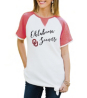 Oklahoma Sooners Believe It or Knot Raglan Waffle Tee