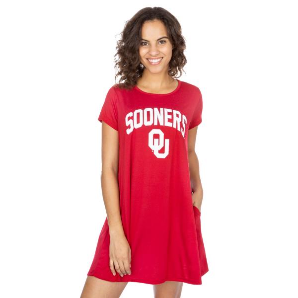 Oklahoma Sooners Tee Shirt Dress