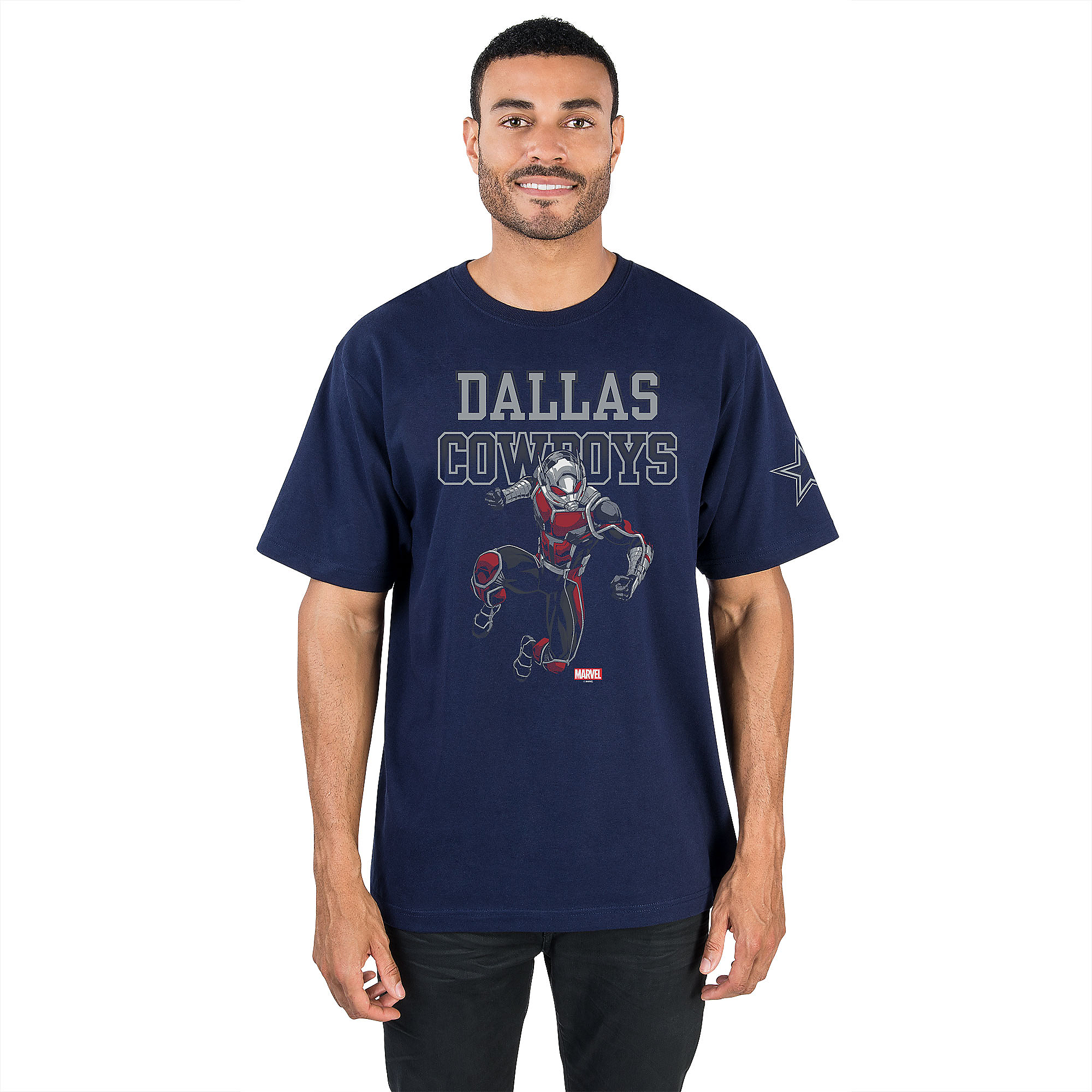 Dallas Cowboys MARVEL Ant-Man Fearless Tee
