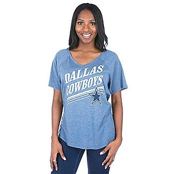 Dallas Cowboys Mitchell & Ness Tight Defense V-Neck Tee