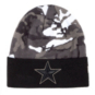 Dallas Cowboys New Era Camo Cuffed Knit Hat