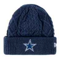 Dallas Cowboys New Era Frost Fresh Knit Hat
