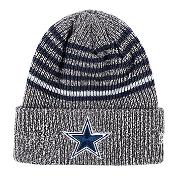 Dallas Cowboys New Era Stripe Strong Knit Hat