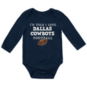 Dallas Cowboys Infant I'm Told Long Sleeve Bodysuit