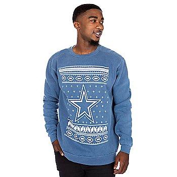Dallas Cowboys Alta Gracia Unisex Star Crew Neck Sweatshirt