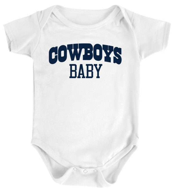 Dallas Cowboys Infant Cowboys Baby Bodysuit