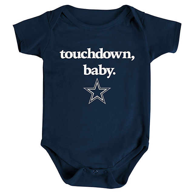 Infant outfits infant kids cowboys catalog dallas cowboys dallas cowboys infant touchdown baby bodysuit negle Images
