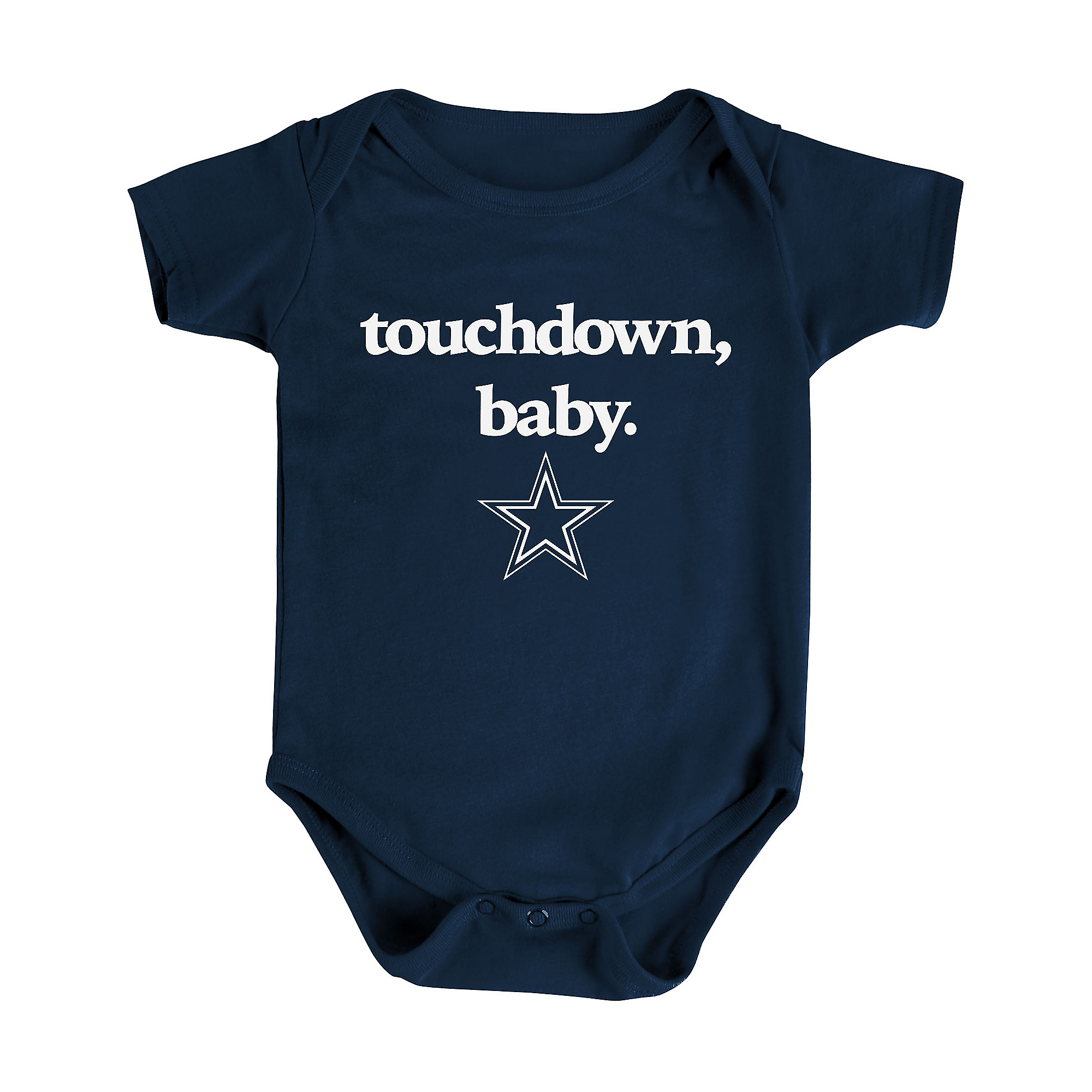 Dallas Cowboys Infant Touchdown Baby Bodysuit