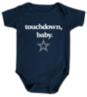 Dallas Cowboys Infant Touchdown Baby Bodysuit