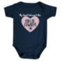 Dallas Cowboys Infant Heart Belongs To The Cowboys Bodysuit