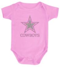 Dallas Cowboys Infant Sparkling Star Bodysuit