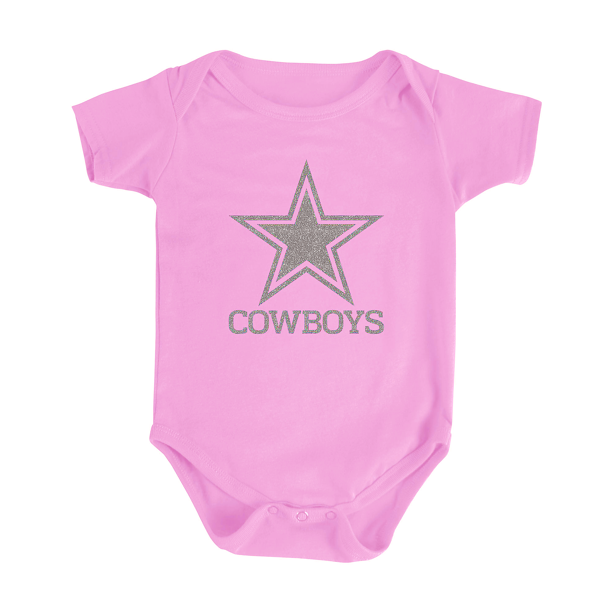 Dallas Cowboys Infant Sparkling Star Bodysuit