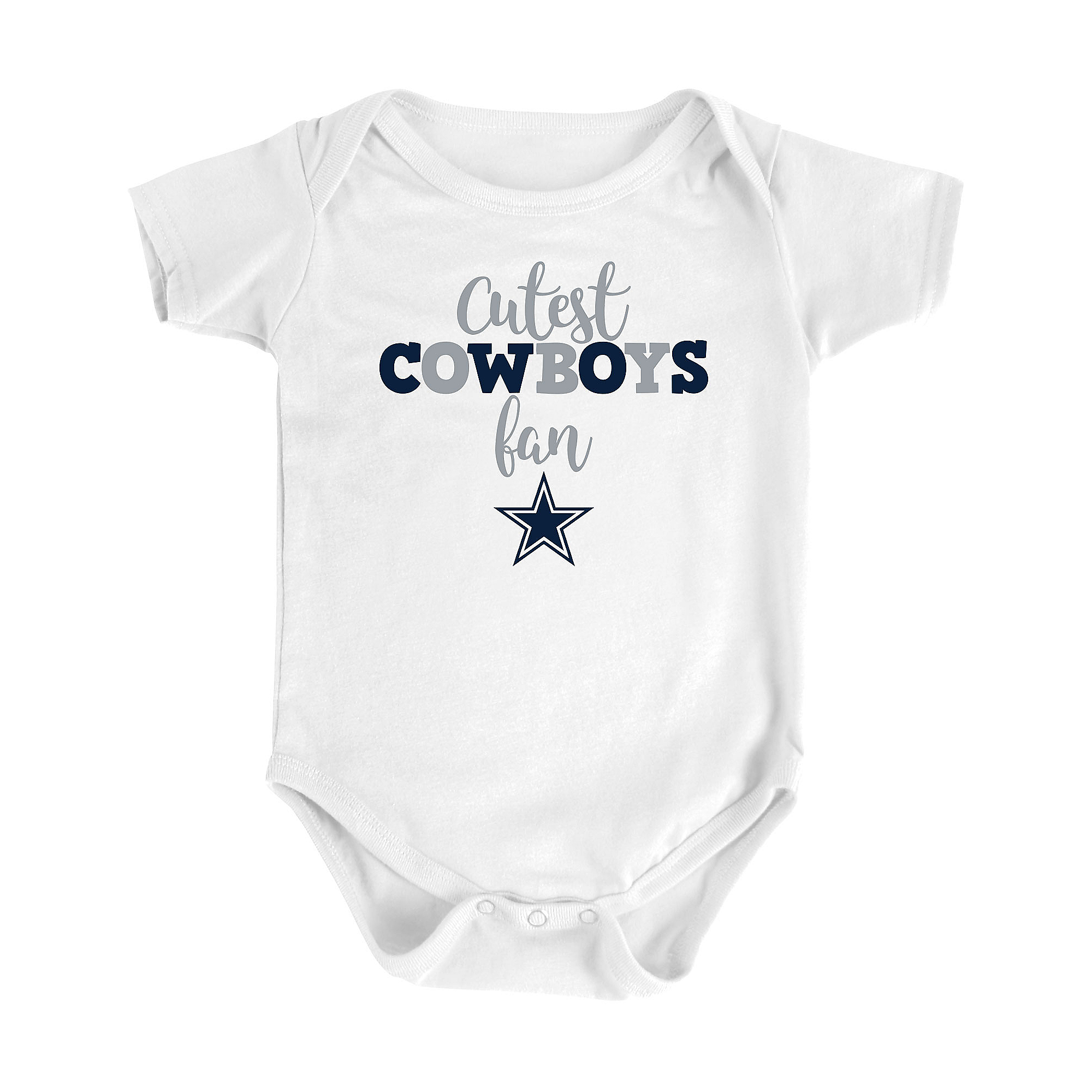 Dallas Cowboys Infant Cutest Cowboy Bodysuit