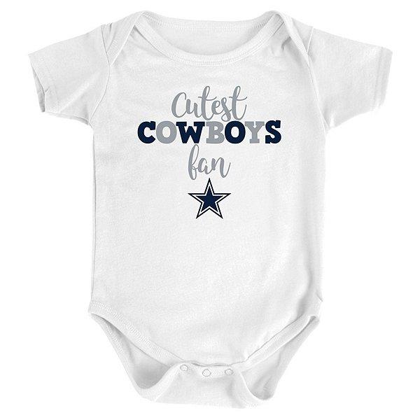 Dallas Cowboys Infant Cutest Cowboy Bodysuit