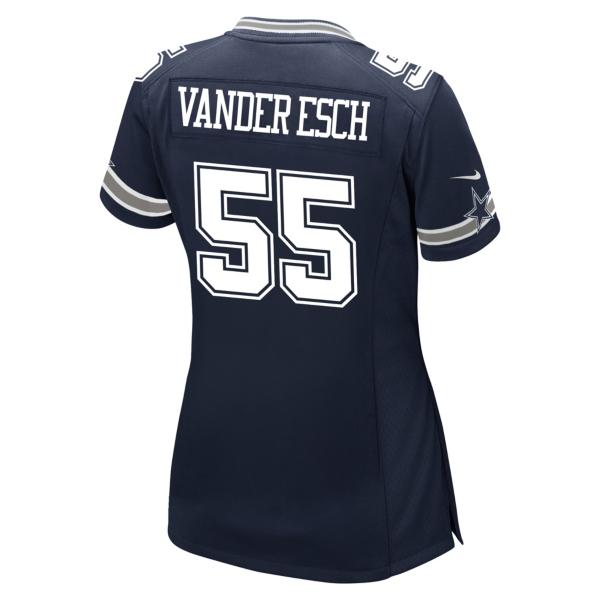 Dallas Cowboys Leighton Vander Esch Nike Womens Navy Game Replica Jersey